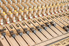 Musical mixer Royalty Free Stock Image