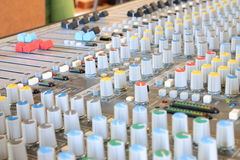 Musical mixer Stock Photos
