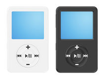 Musical mp3 player Royalty Free Stock Images