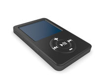 Musical mp3 player Stock Photos