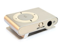 Musical mp3 player Stock Images
