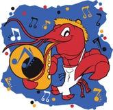 Musical Mudbug Royalty Free Stock Photography