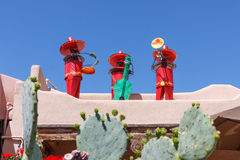Musical New Mexicans Stock Photo