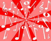 Musical Noise BAckground Royalty Free Stock Photos