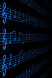 Musical Notation Royalty Free Stock Photos