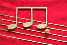Musical notation Stock Photography