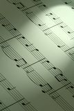 Musical notation Royalty Free Stock Photo