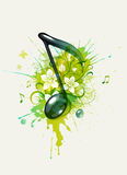 Musical note Stock Image