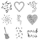 Musical note4 Royalty Free Stock Photo