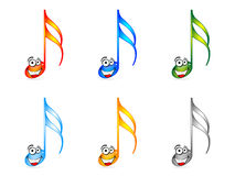 Musical notes Royalty Free Stock Image