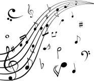 Musical notes Stock Photos