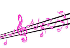 Musical notes Royalty Free Stock Photos