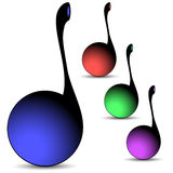 Musical notes Royalty Free Stock Images