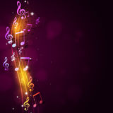 Musical Notes Background Royalty Free Stock Image