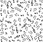 Musical Notes Background Stock Photography
