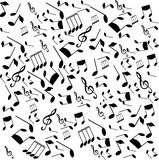 Musical notes Stock Photography