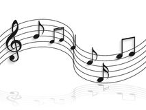 Musical Notes Illustration Royalty Free Stock Image