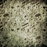 Musical notes pattern Royalty Free Stock Photography
