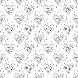 Musical notes pattern Stock Photo
