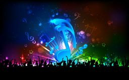 Musical Party Background Royalty Free Stock Image