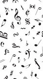 Musical pattern Royalty Free Stock Image