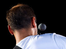 Musical performer Stock Images