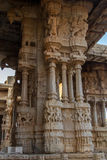 Musical Pillars of Vittala Temple Hampi Royalty Free Stock Image