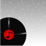 Musical plate Stock Images