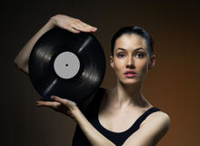 Musical record Stock Photos