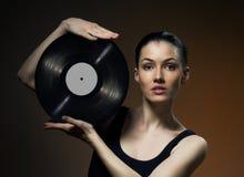 Musical record Stock Photos