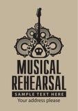 Musical rehearsal Royalty Free Stock Photo