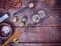 Musical religious instruments stock photos