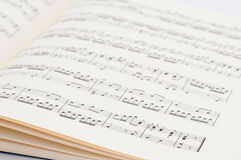 Musical score Royalty Free Stock Photography
