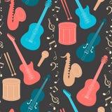 Musical seamless pattern Royalty Free Stock Image