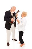 Musical Senior Couple Royalty Free Stock Photos