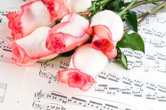 Musical sheet Royalty Free Stock Photography