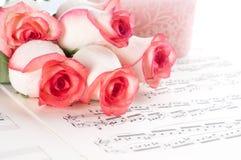 Musical sheet. Stock Photo