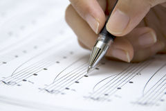 Musical Sheet Royalty Free Stock Photos