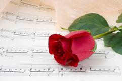 Musical sheet. Royalty Free Stock Photos