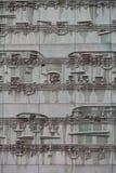 Musical sheet on a facade of a building Stock Photo