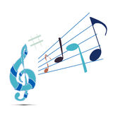 Musical signs Royalty Free Stock Photos