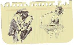 A musical sketch no.2 Royalty Free Stock Photos