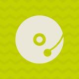 Musical sound icon design Stock Photos