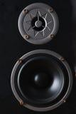 Musical speaker Stock Image