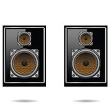 Musical speakers Royalty Free Stock Images