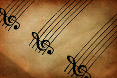 Free Musical Staff Stock Images - 24284424