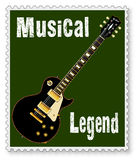 Musical Stamp Stock Image