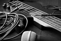 Musical still life Stock Images
