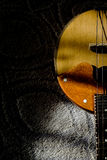 musical string instrument    lute, Royalty Free Stock Image