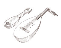 musical stringed instruments Royalty Free Stock Photo